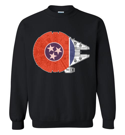 $30.95 - Tennessee Flag And The Millennium Falcon Sweater