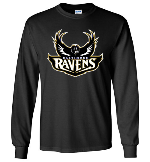$23.95 – Baltimore Ravens NFL Football Long Sleeve Shirt