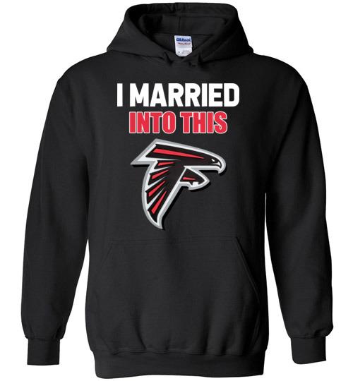 uk availability eb3dd a5d47 I Married Into This Atlanta Falcons Football NFL Shirts