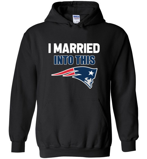 $32.95 – I Married Into This New England Patriots Football NFL Hoodie
