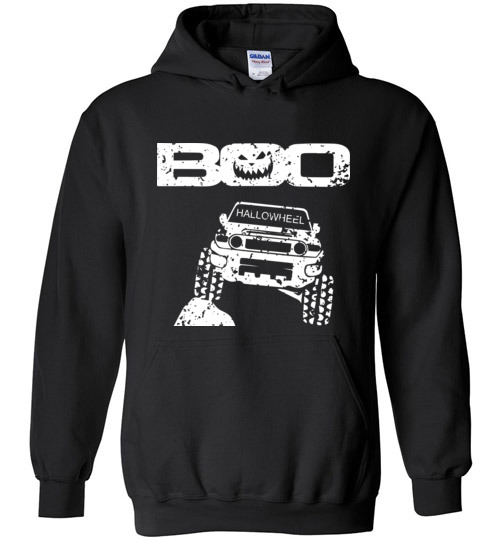 $32.95 – Boo Hallowheel FJ Cruiser Funny Halloween Hoodie