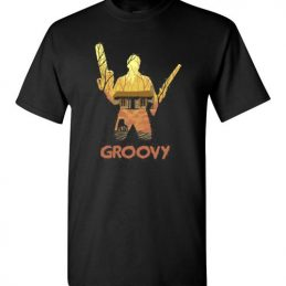 $18.95 – Groovy - Ash Williams Halloween T-Shirt