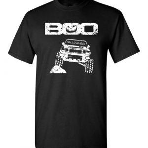 $18.95 – Boo Hallowheel FJ Cruiser Funny Halloween T-Shirt