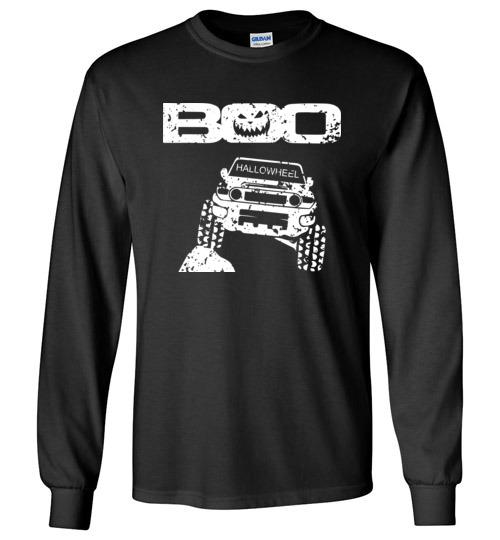 $23.95 – Boo Hallowheel FJ Cruiser Funny Halloween Long Sleeve Shirt
