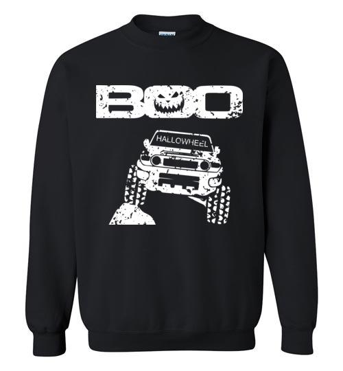 $29.95 – Boo Hallowheel FJ Cruiser Funny Halloween Sweatshirt