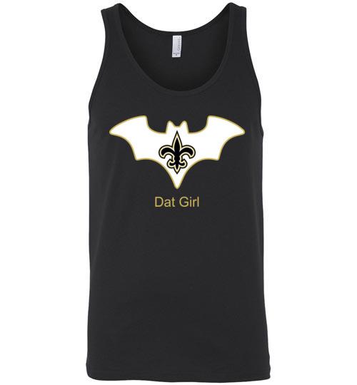 $24.95 – Batman Dat Girl New Orleans Saints NFL Unisex Tank